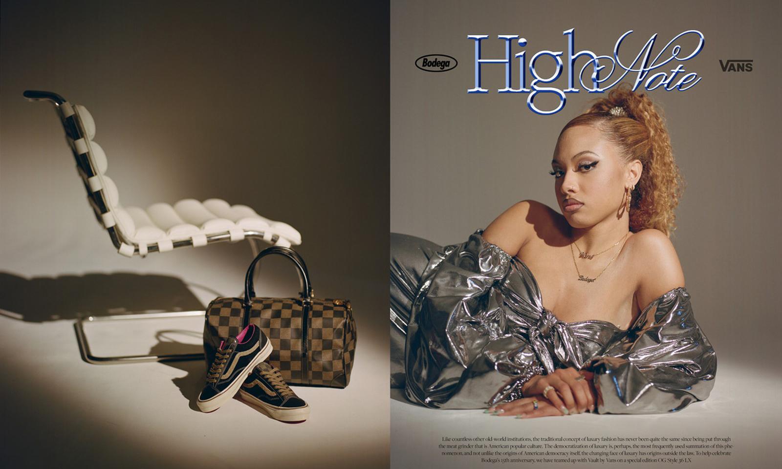 Bodega x Vault by Vans 合作鞋款「High Note」即将发售