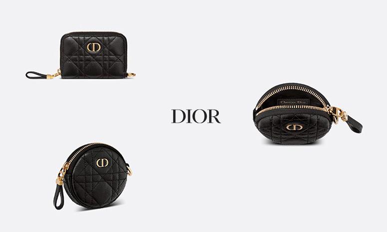经典款卡包与钱包,DIOR 释出全新配件系列