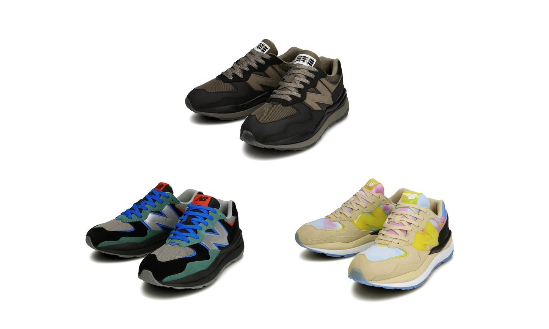 New Balance 联手 atmos、N. HOOLYWOOD、WHIZ LIMITED 打造联名系列鞋款