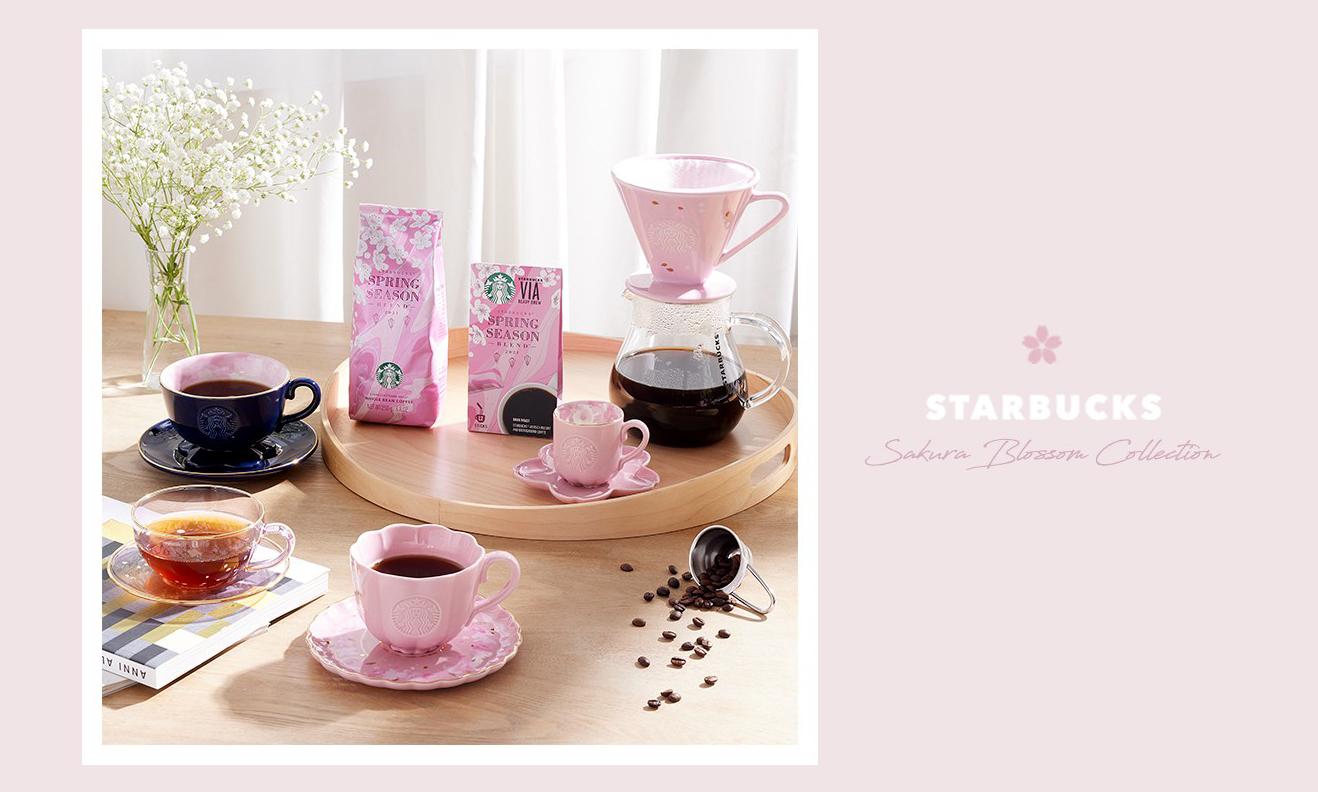 春日生活,Starbucks 推出樱花主题新系列