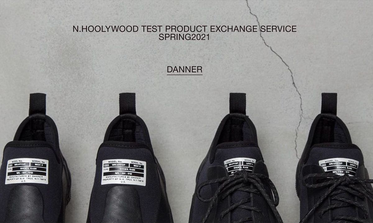 N.HOOLYWOOD x DANNER 联乘系列即将登场