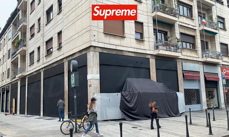 Supreme 将在米兰开设全新线下门店