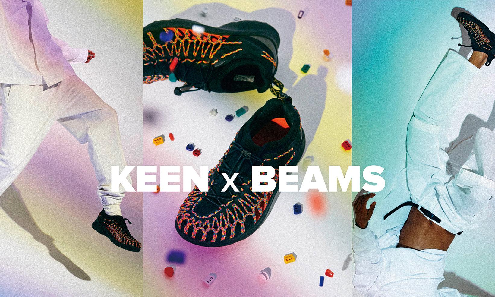 创意装饰专属 UNEEK,BEAMS x KEEN 联名系列登场
