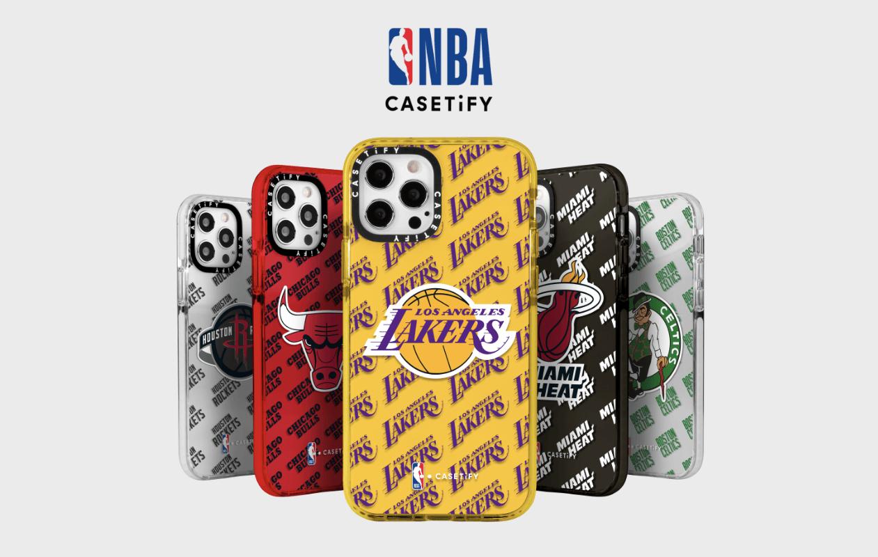 CASETiFY 携手 NBA 推出胶囊系列