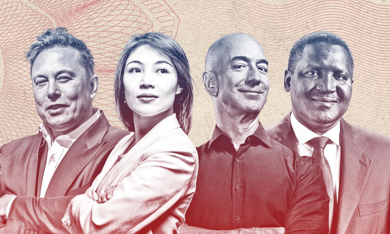 《福布斯》发布 2021 全球亿万富豪榜,贝索斯第四年蝉联榜首