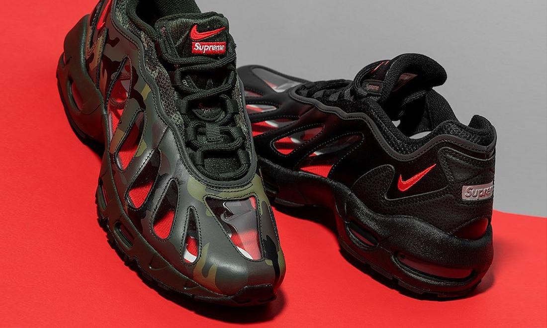 Supreme x Nike Air Max 96 三色释出