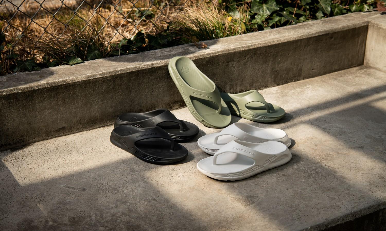 DESCENTE 「ENERZITE CALM SANDAL」凉鞋新色释出