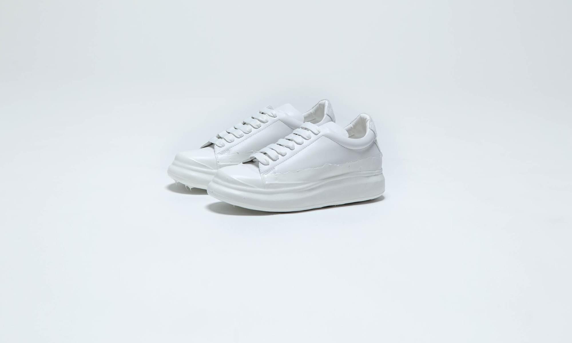 专注于小白鞋的鞋履品牌 GO WITH WHITE 亮相