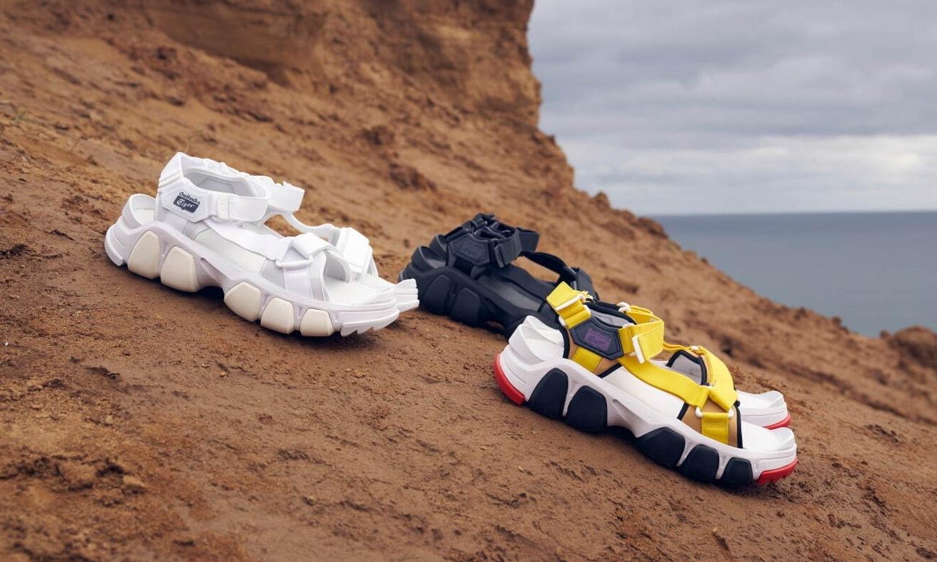 Onitsuka Tiger 推出新款中性凉鞋