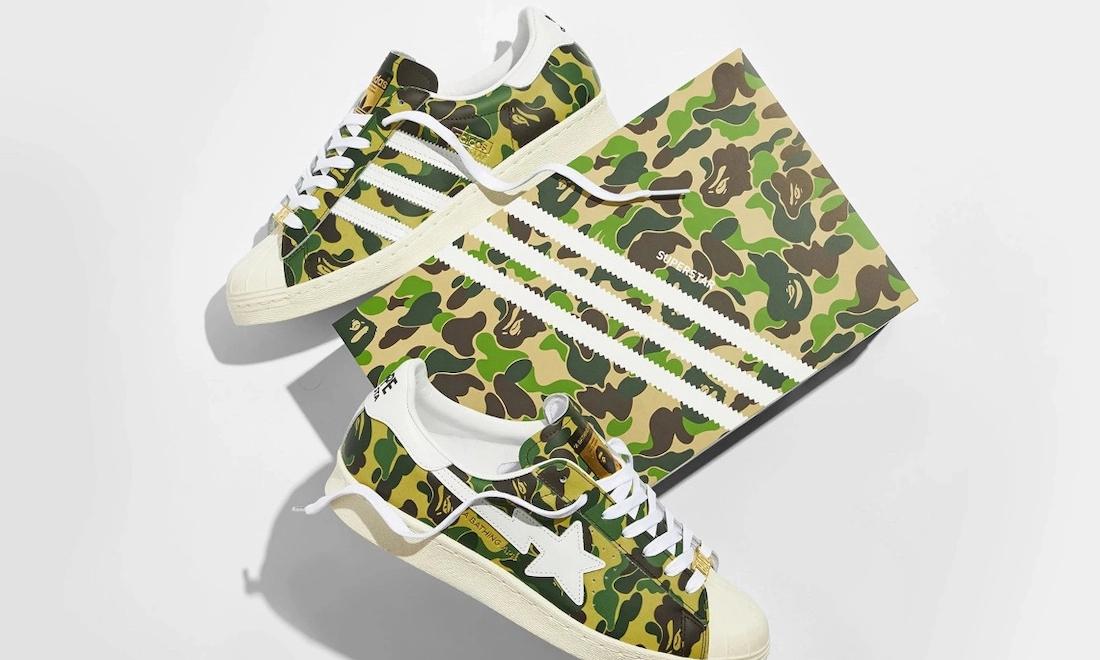 BAPE® x adidas Superstar「Green Camo」发售日期确定
