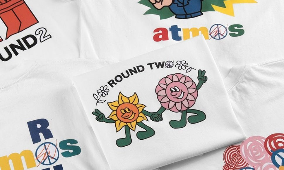 Round Two x atmos x Sean Wotherspoon 联乘 T恤系列即将开催