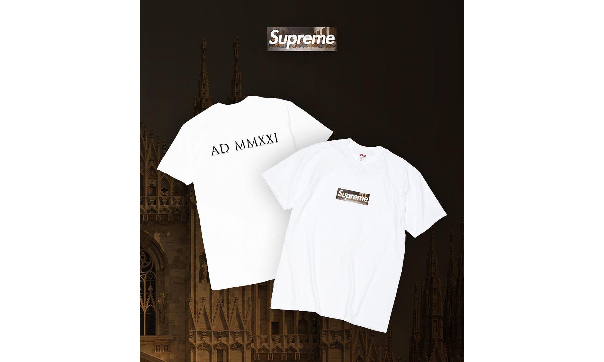 Supreme Milan Box Logo Tee 将随新店开业发售