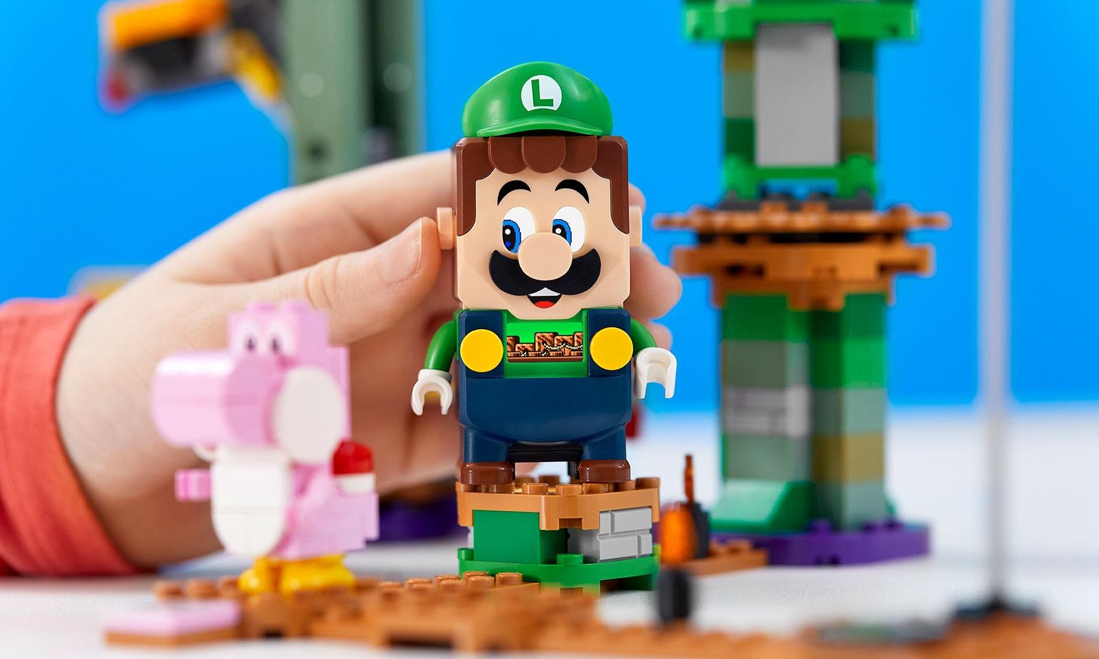 LEGO 将路易吉加入超级马里奥系列之中