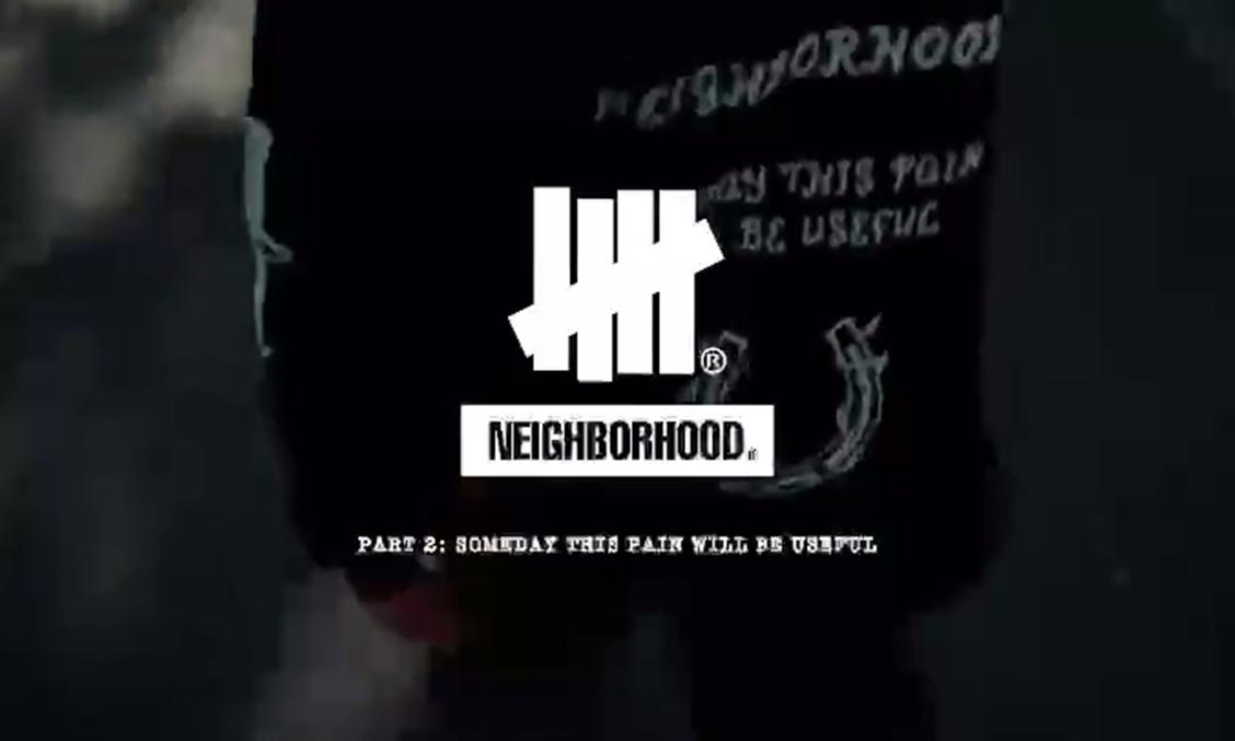 NEIGHBORHOOD x UNDEFEATED 联乘第二弹预告公开