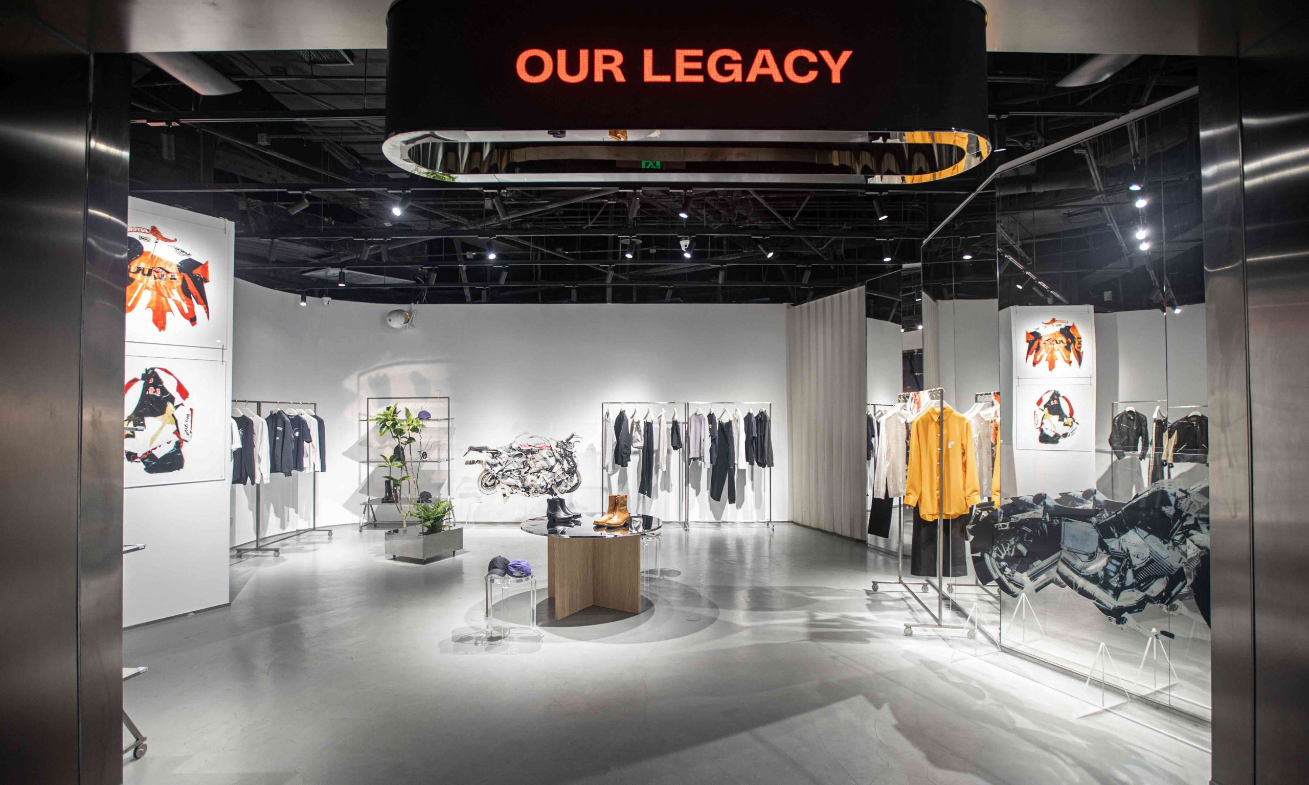 SKP-S | station S #016 OUR LEGACY 限时店铺今日开催