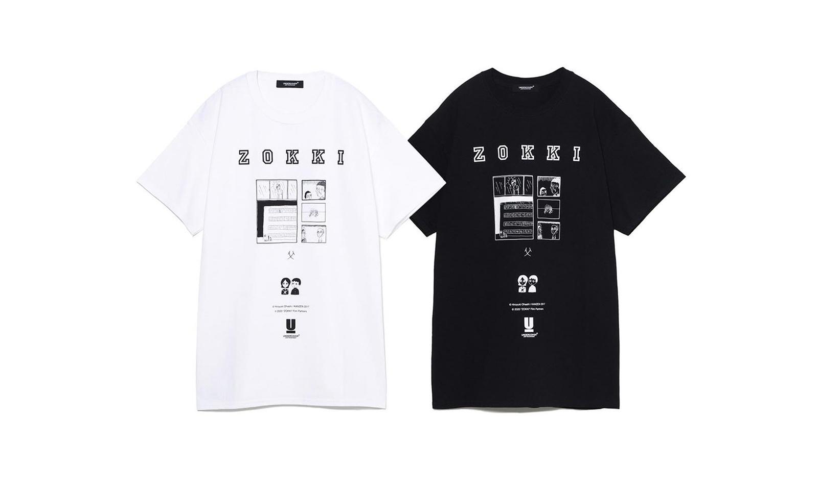 ZOKKI x UNDERCOVER 合作 T 恤系列今日发售