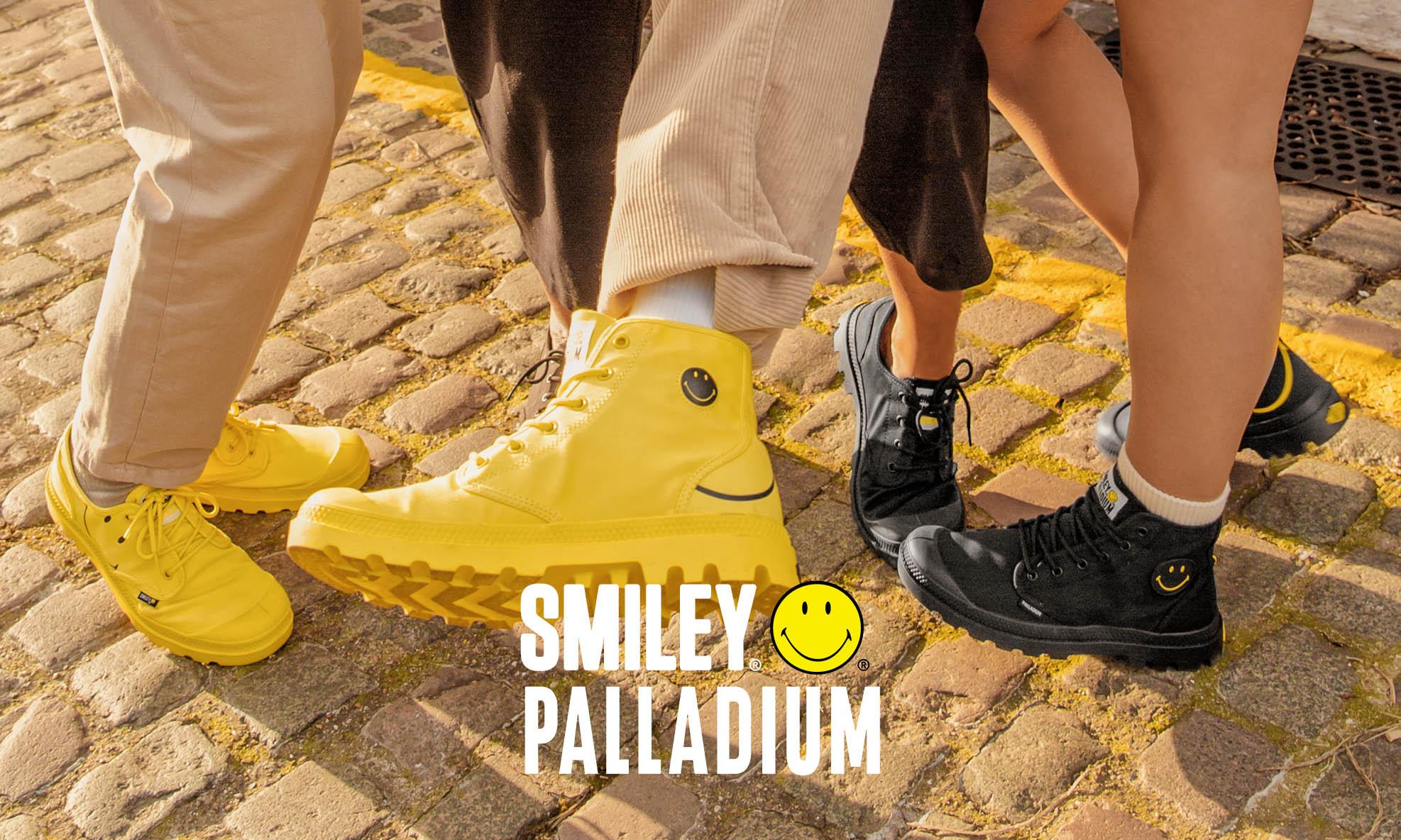 Palladium x Smiley 联名系列发布