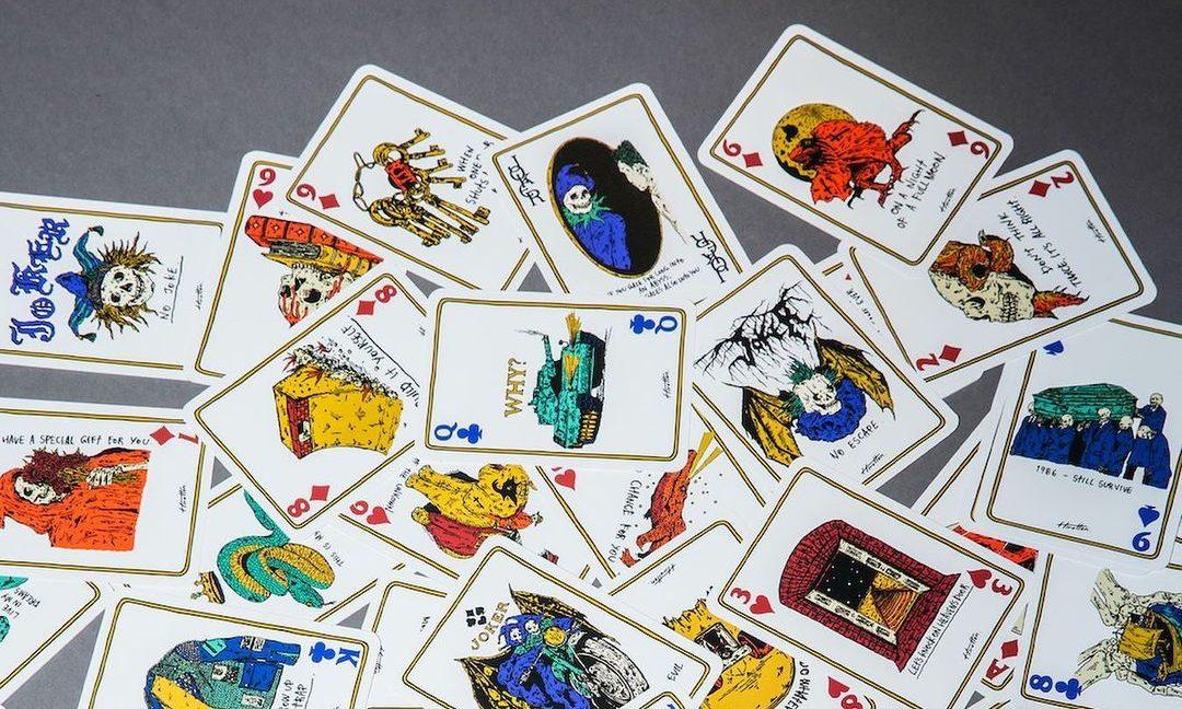 Hirotton 发布「PLAYING CARDS」系列 T恤