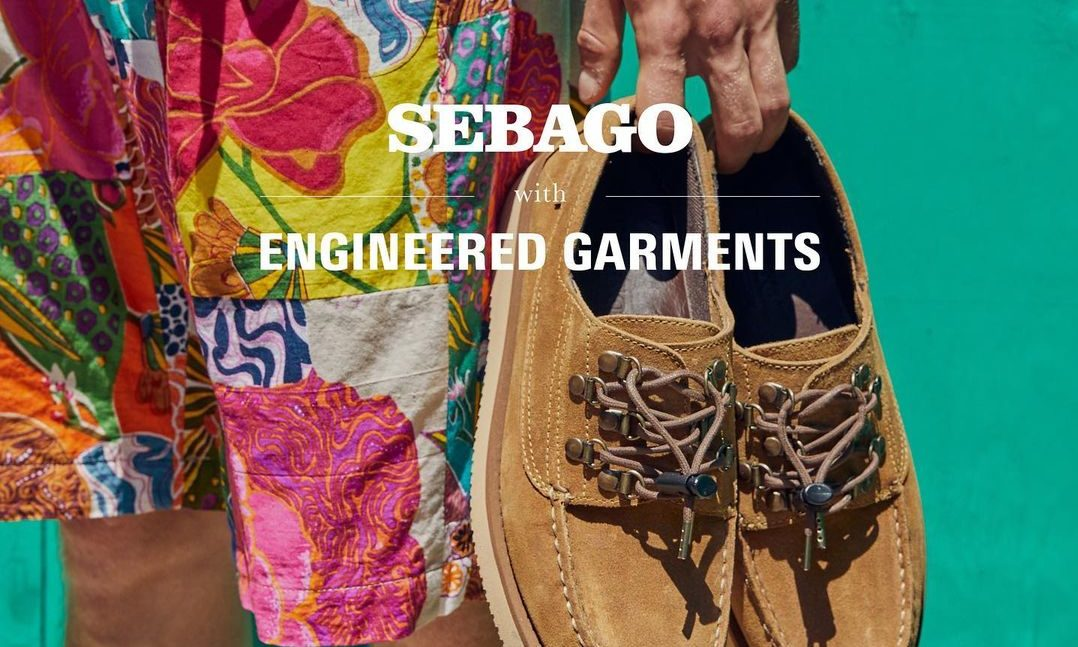 Engineered Garments x Sebago 联名鞋款正式登场