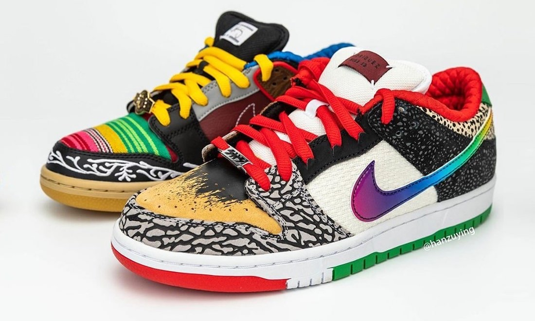 Nike SB Dunk Low「What The P-Rod」细节近赏