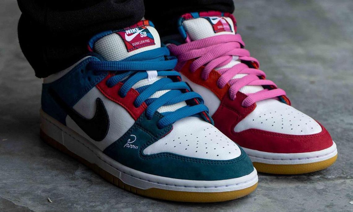 Parra x Nike SB Dunk Low 全新设计首度公开