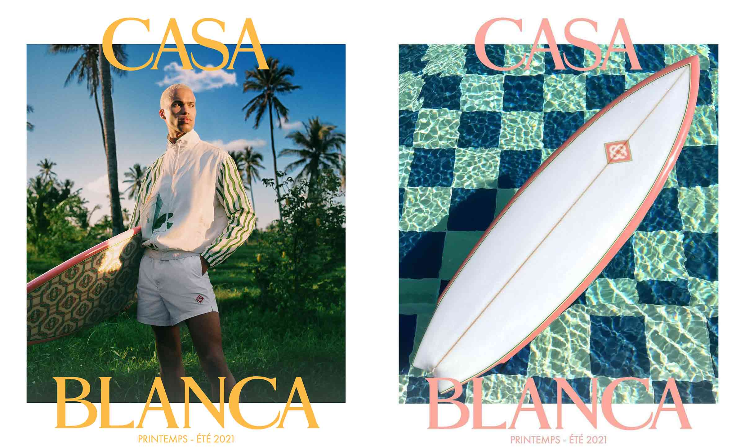 Casablanca 推出 2021 春夏季冲浪板单品