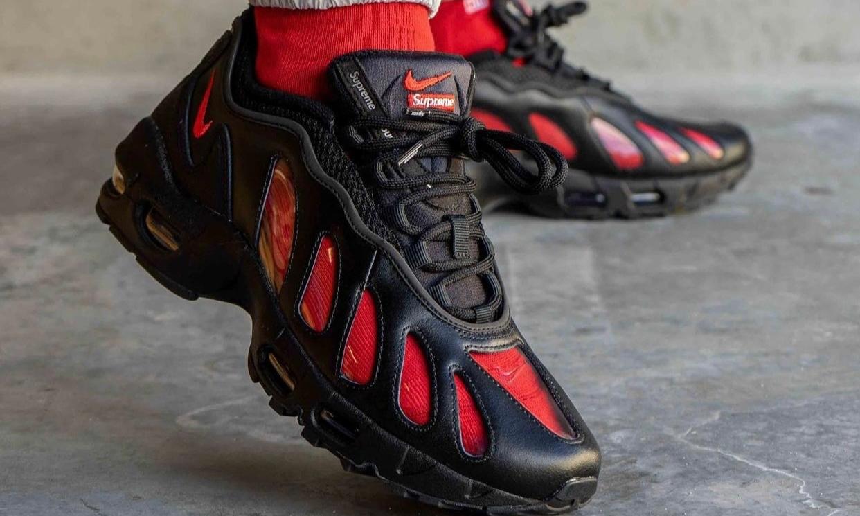 Supreme x Nike Air Max 96 上脚预览