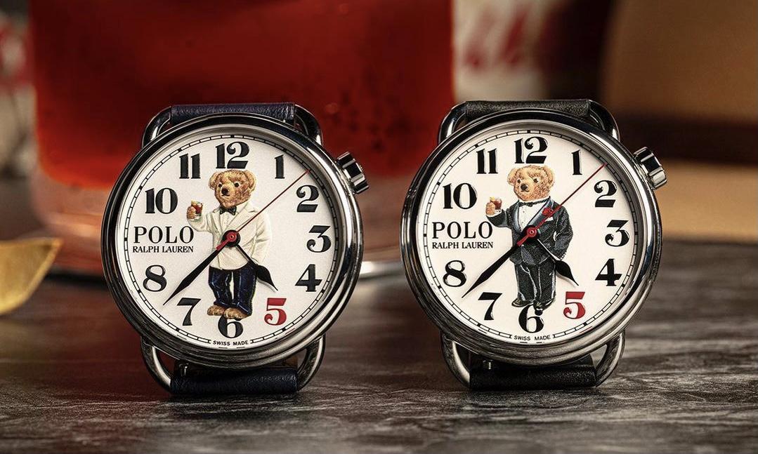 Polo Ralph Lauren 携手 THE RAKE 推出全新 Polo Bear 腕表