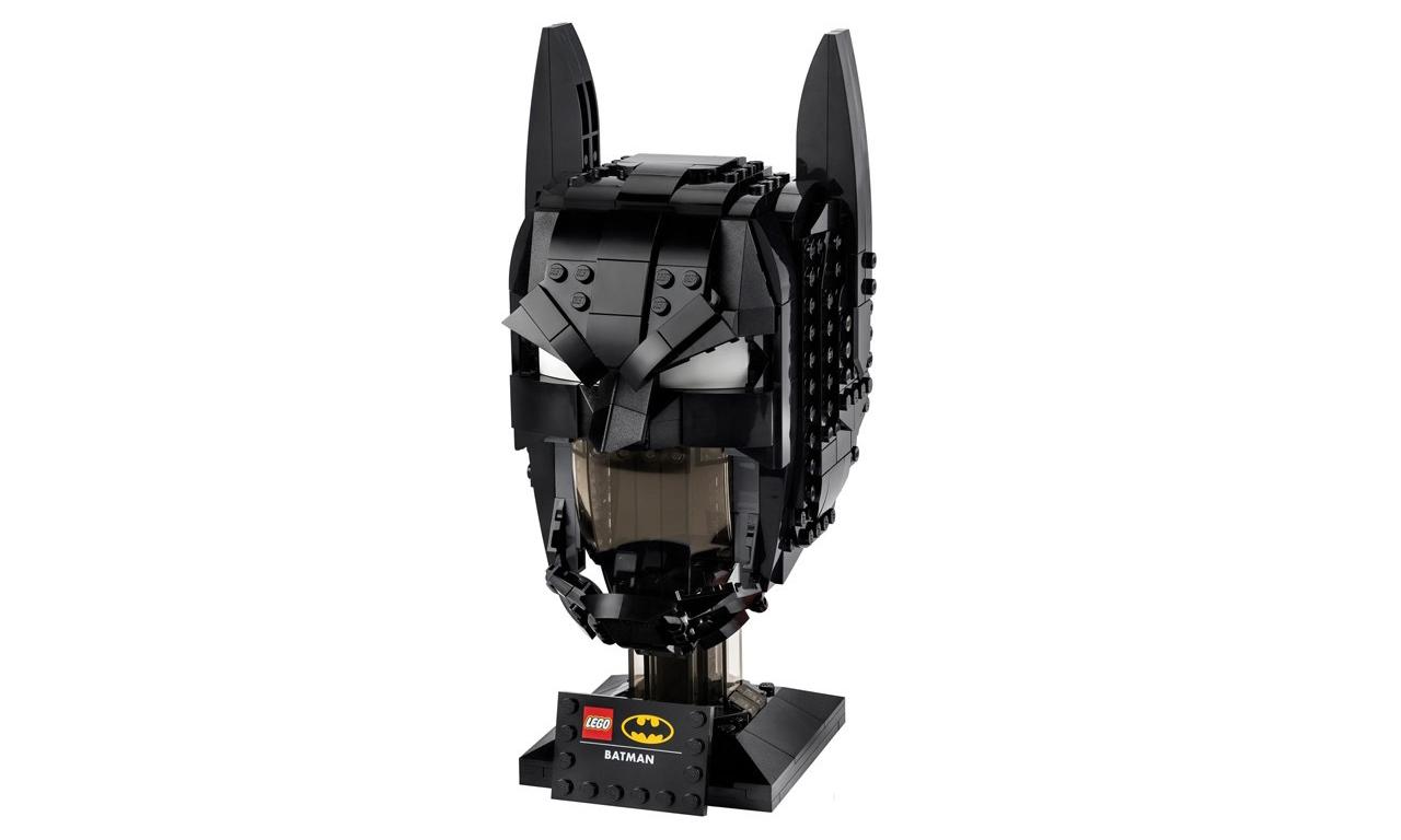 LEGO x DC 打造蝙蝠侠头盔套组