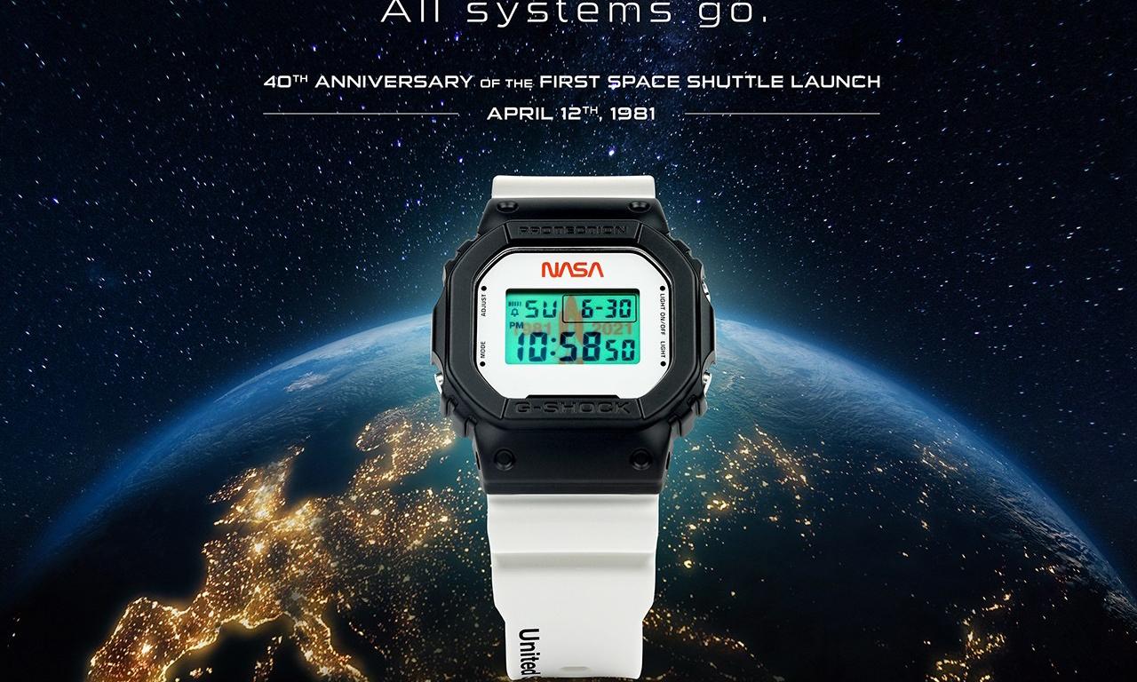 G-SHOCK 推出 NASA 特别纪念版腕表
