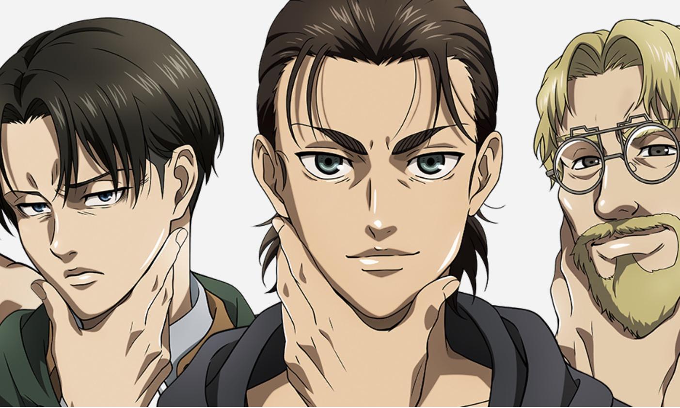 梦幻联动,《进击的巨人》x 资生堂打造男士护肤品系列