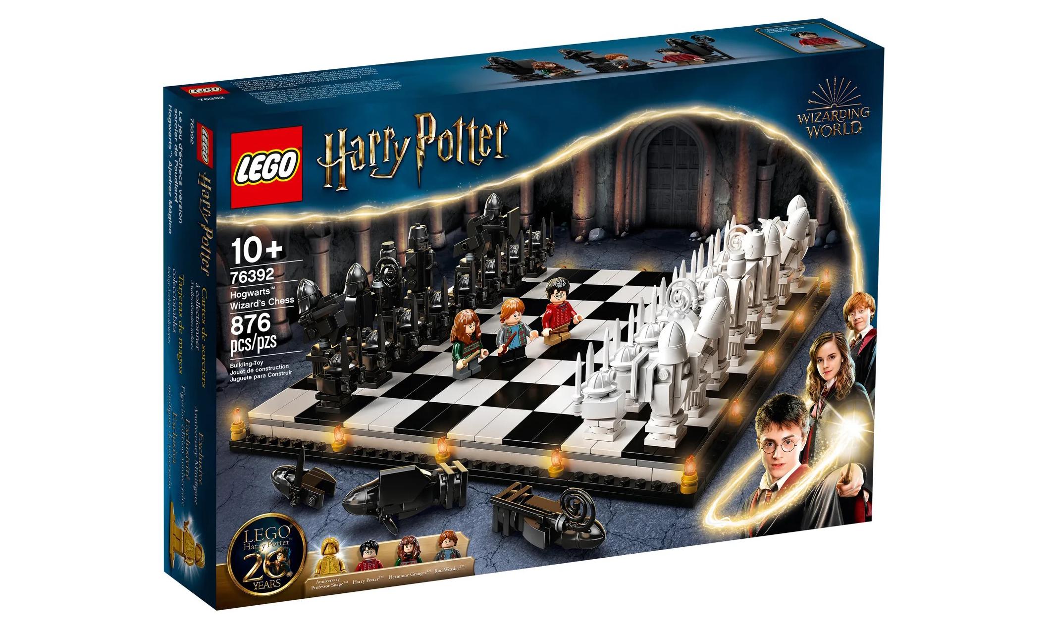 LEGO 76392《哈利波特》霍格沃茨巫师棋套组亮相