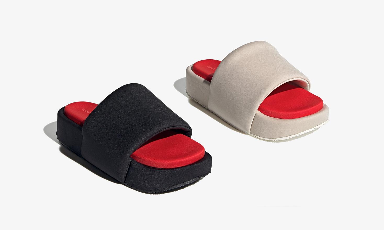 adidas Y-3 推出全新夏日拖鞋设计