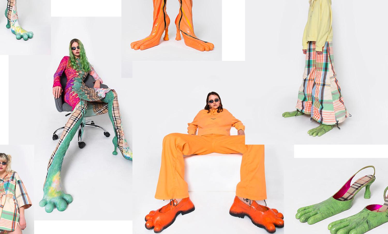 用废料衣服搭配怪兽鞋,这品牌是什么来头?
