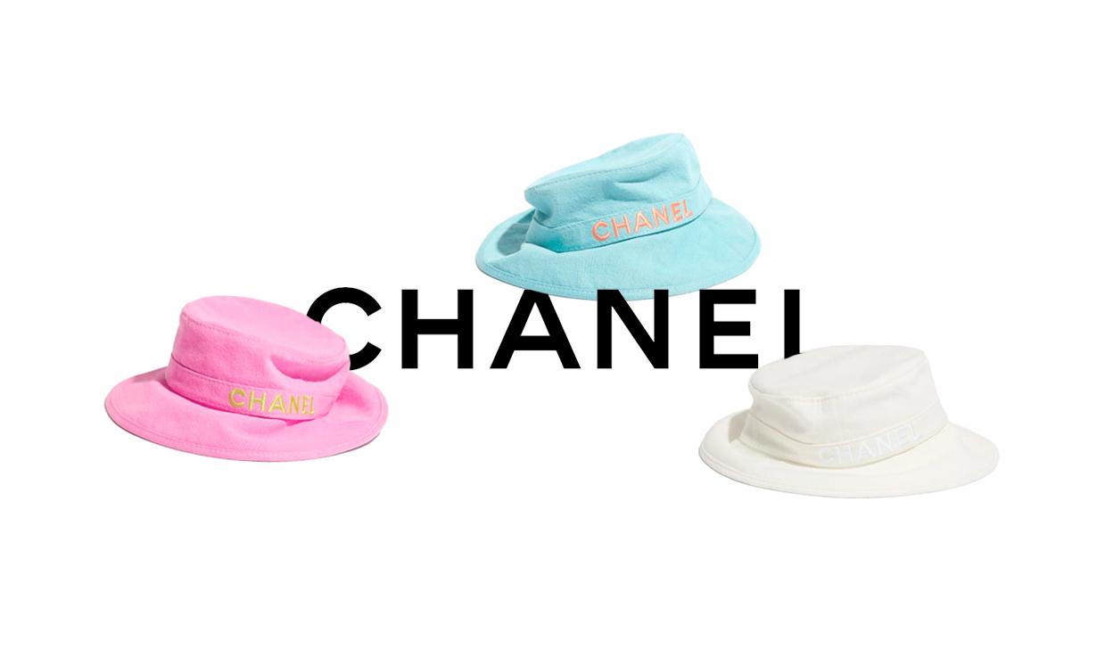 三色可选,CHANEL 释出全新渔夫帽系列