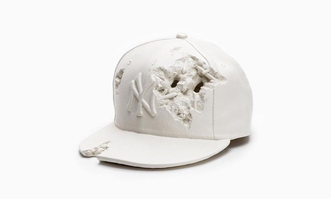 Daniel Arsham 用标志性手法重造 New Era 经典帽型