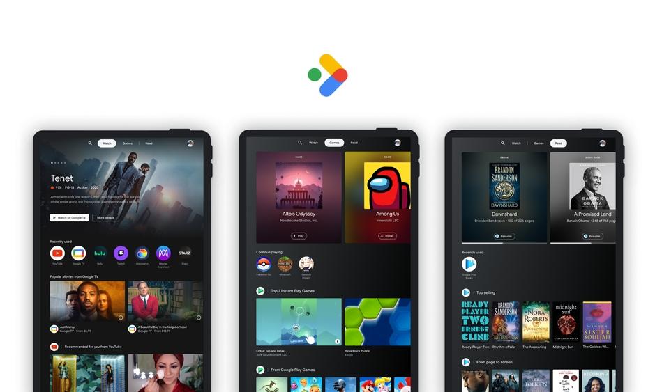 Google 为 Android 平板带来全新「娱乐空间」功能