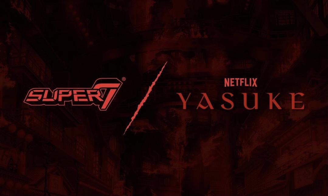 Netflix 携手 Super7 打造「YASUKE」 系列周边玩具