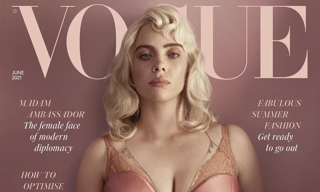 Billie Eilish 登上英国版《VOGUE》六月刊封面