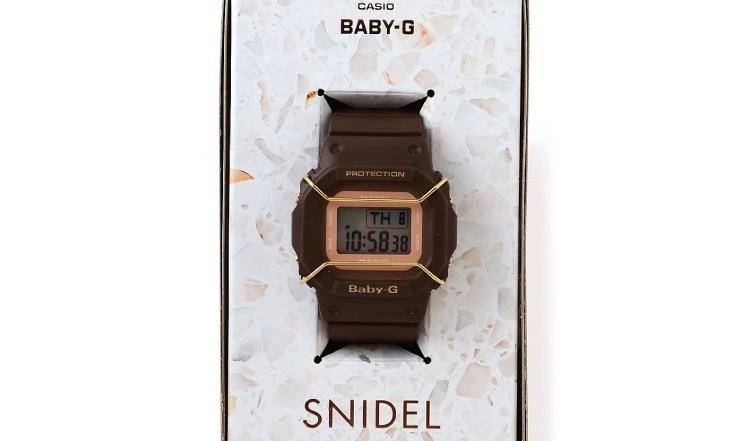 SNIDEL x BABY-G 第二枚合作手表释出