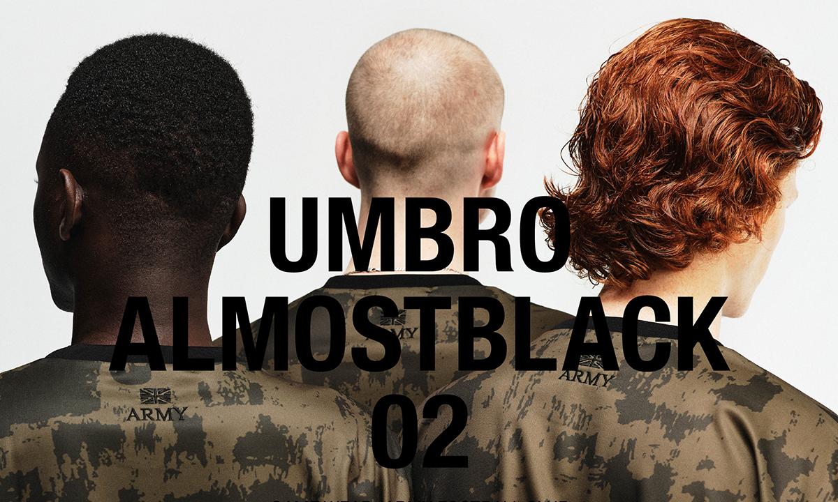 UMBRO x ALMOSTBLACK 联名系列 Drop 2 即将释出