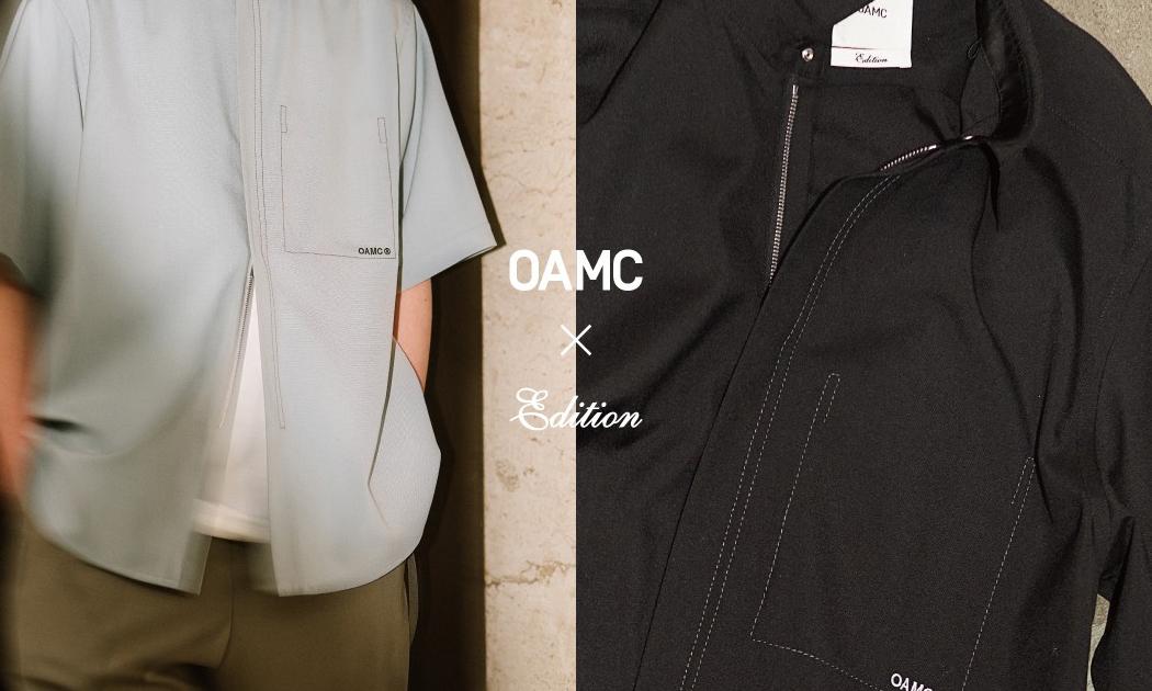 OAMC for Edition 独占拉链衬衫登场