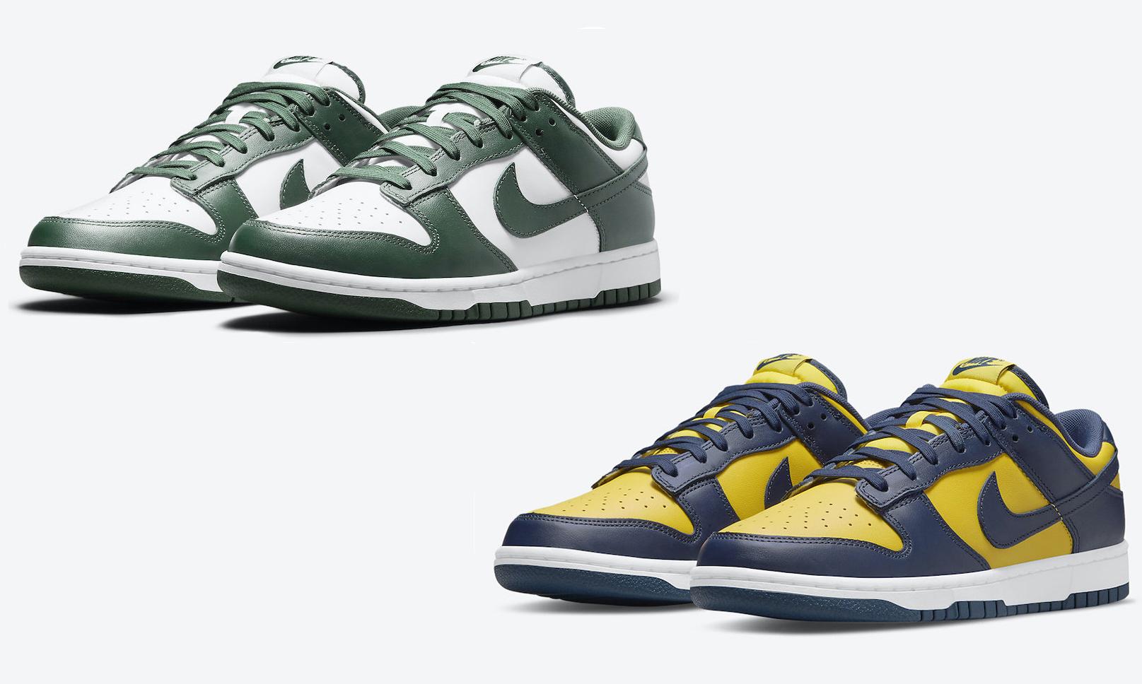 低帮选择,Nike Dunk Low 经典双色即将开售