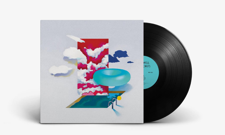 BowAsWell 首张专辑《Neon Donuts》黑胶唱片正式发售
