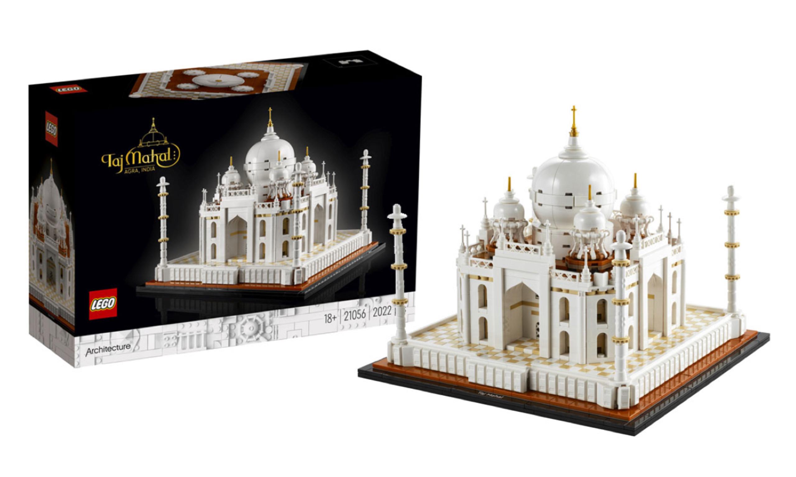LEGO 建筑系列「泰姬陵」盒组释出
