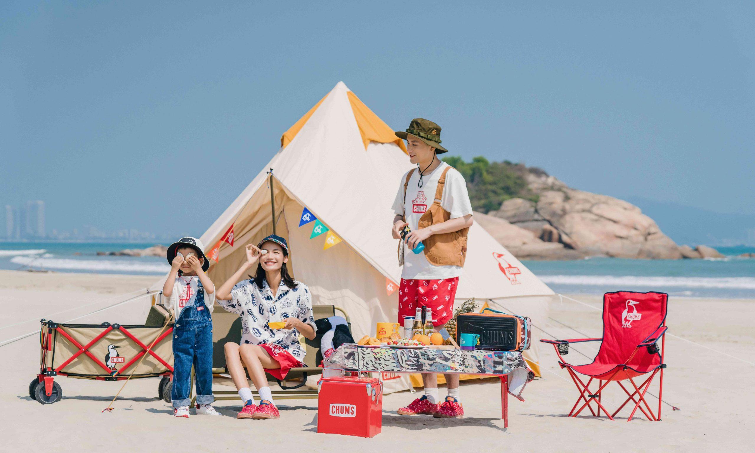 ASICS 联手 CHUMS 共同打造家庭式趣味户外新体验