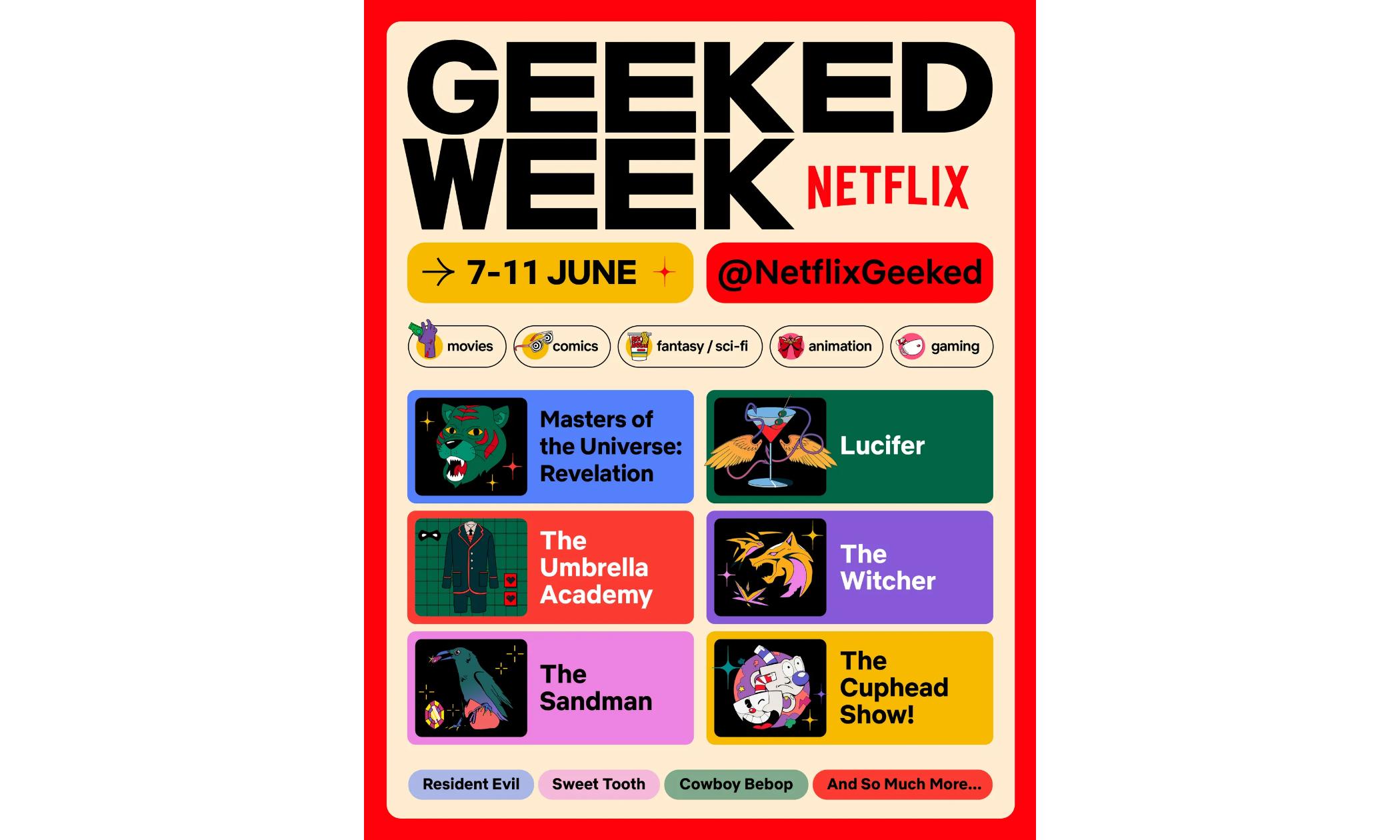 Netflix 发布预告,将举办一场为期一周的虚拟活动