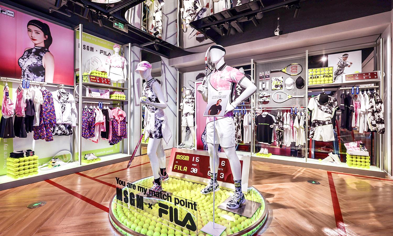 FILA 全球全新概念店于北京盛大开幕