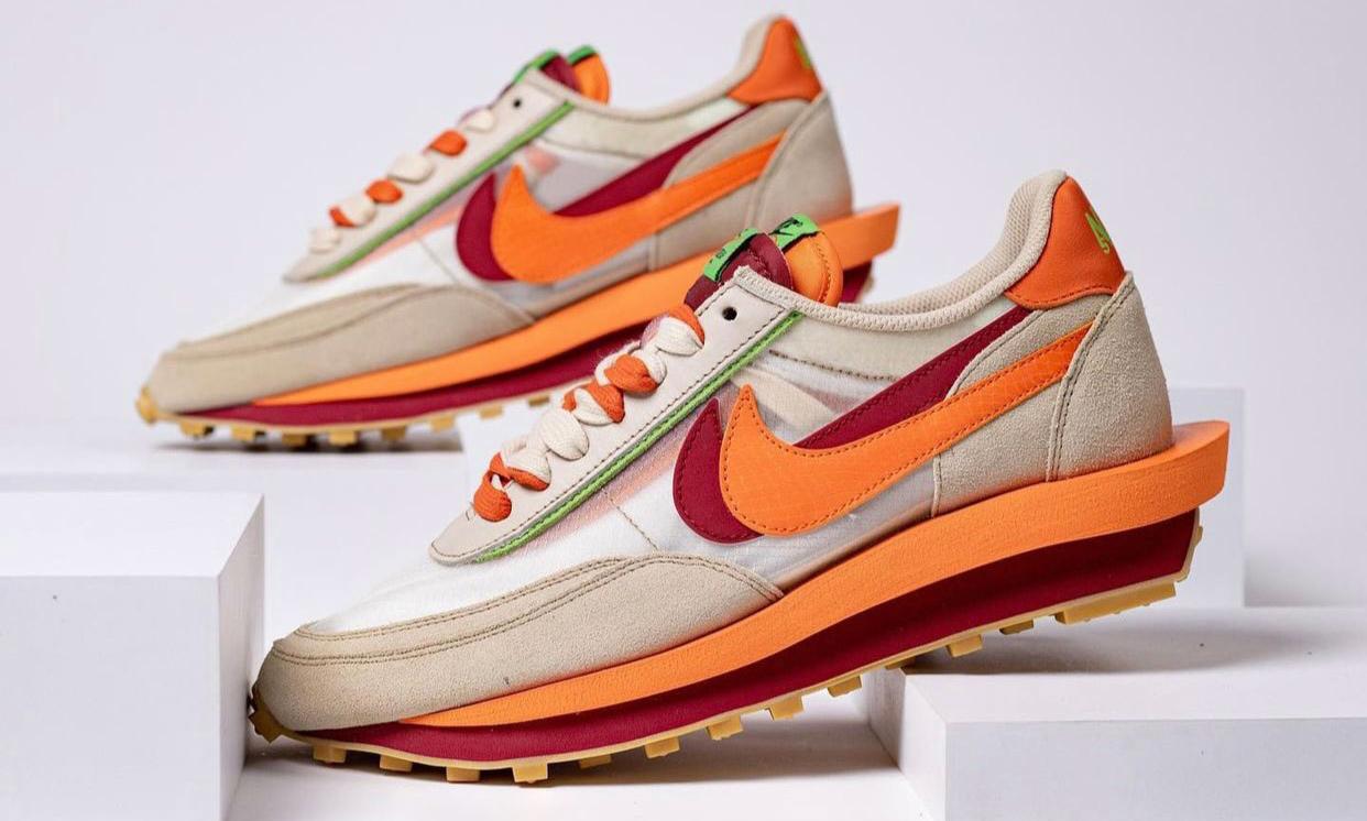 抢先预览 CLOT x sacai x Nike LDWaffle 联名新作