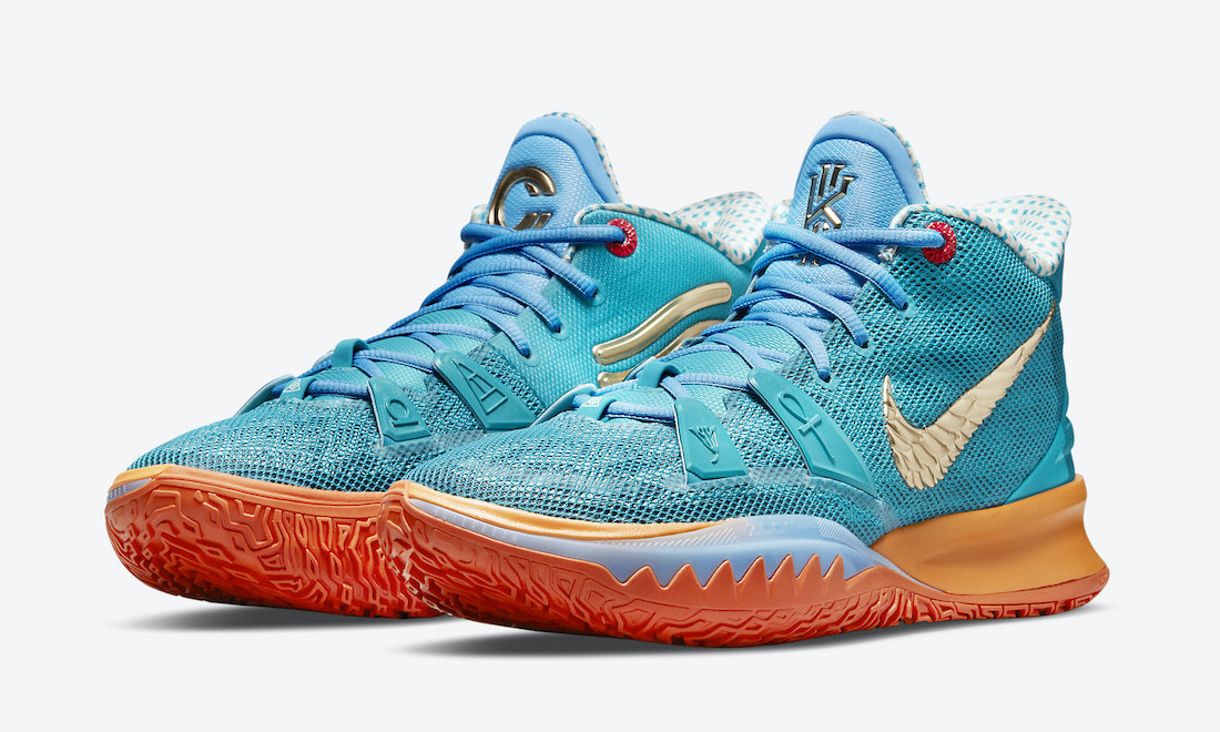 CONCEPTS x Nike Kyrie 7「Horus」将于下周正式发售